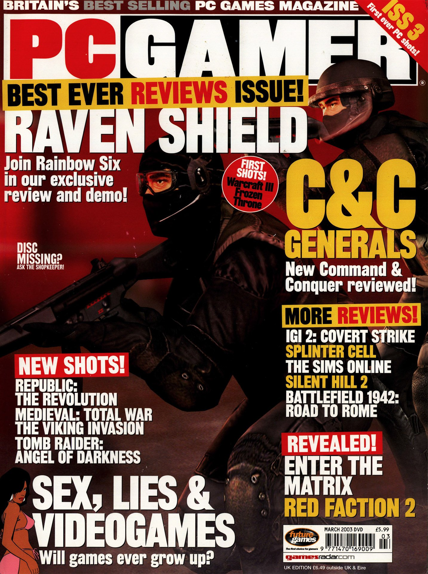PC Gamer UK 120 March 2003