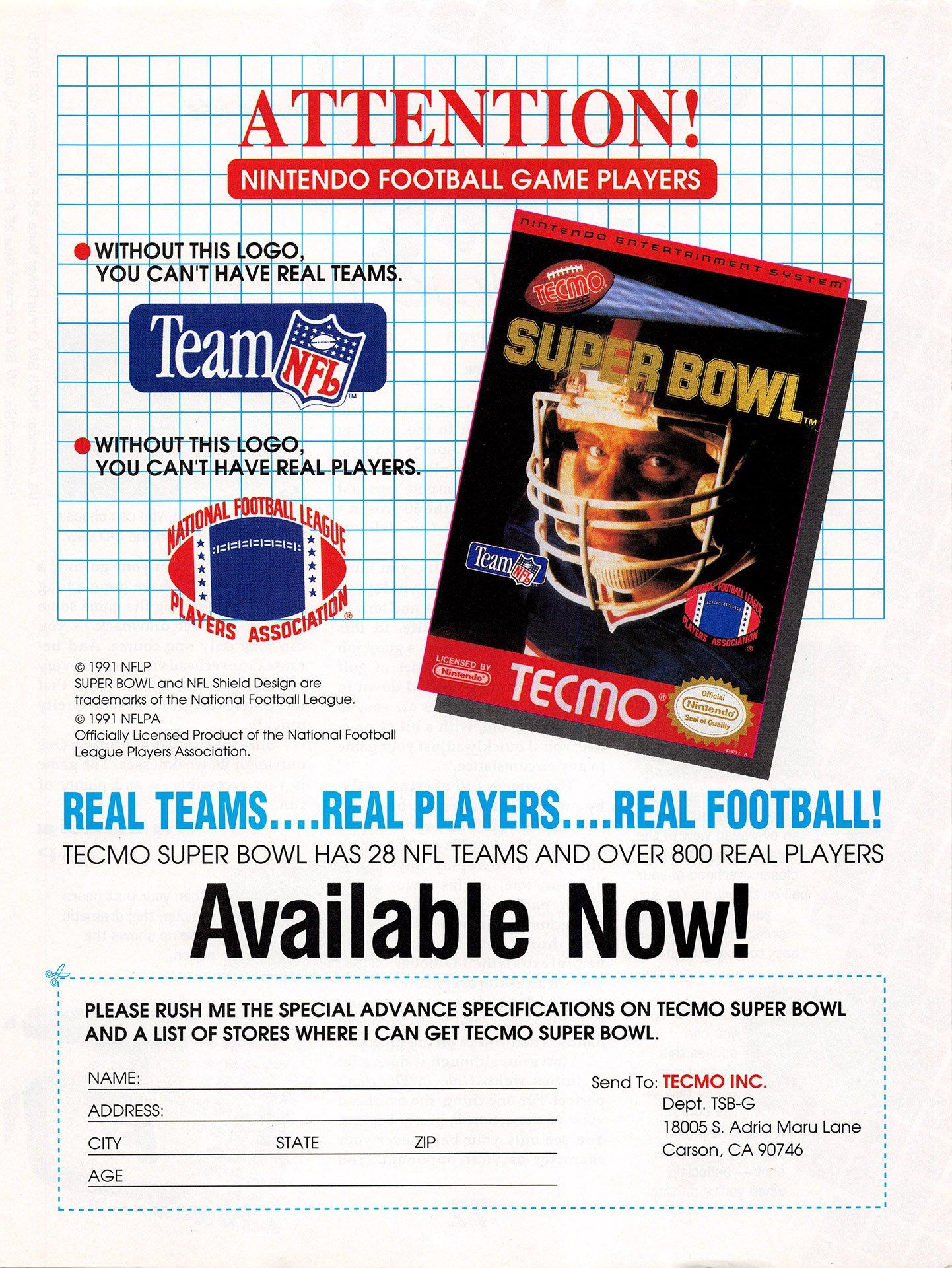 Tecmo Super Bowl (ver.2)