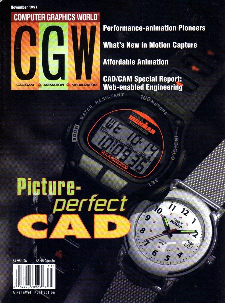 Computer Graphics World Vol. 20 No. 11 (November 1997)