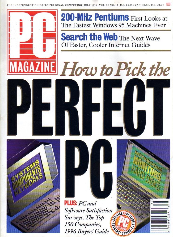 PC Magazine Vol. 15 No. 13 (July 1996)