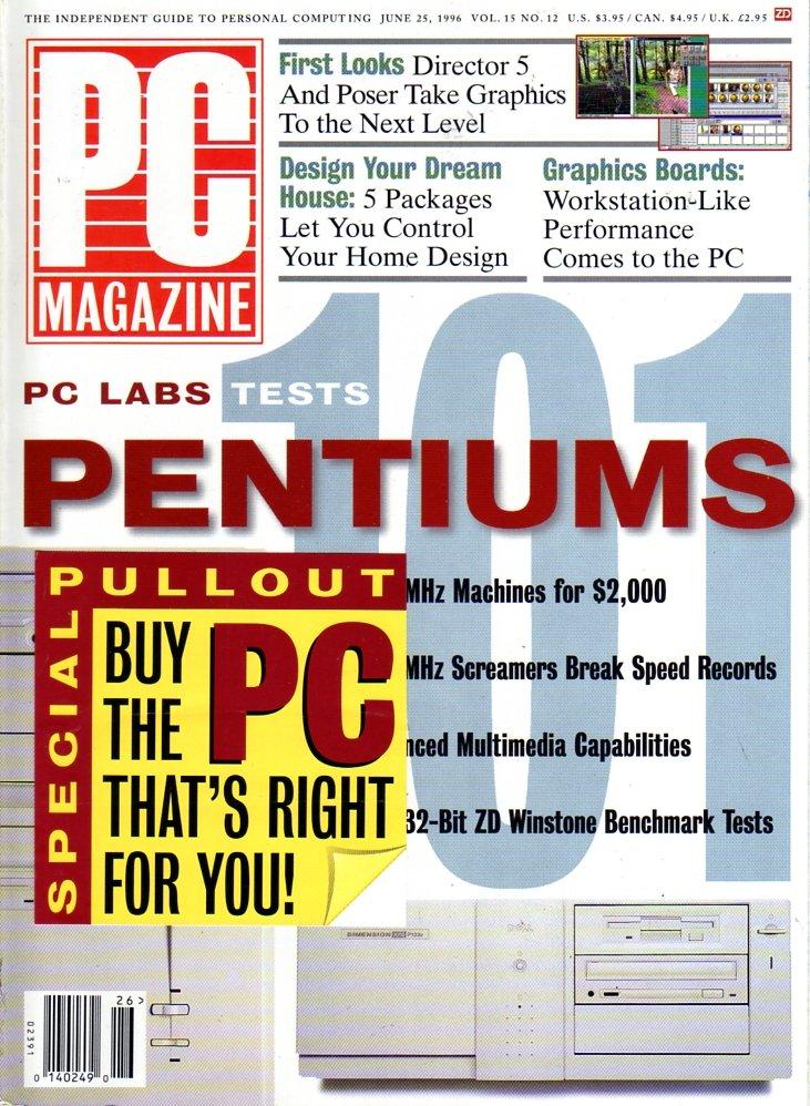 PC Magazine Vol. 15 No. 12 (June 1996)