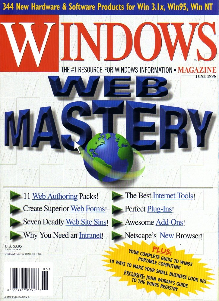 Windows Magazine Vol. 07 No. 06 (June 1996)