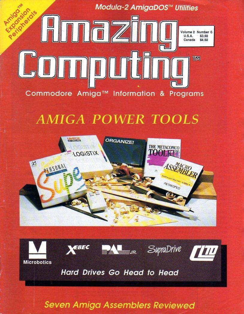 Amazing Computing Issue 015 Vol. 02 No. 06 (June 1987)