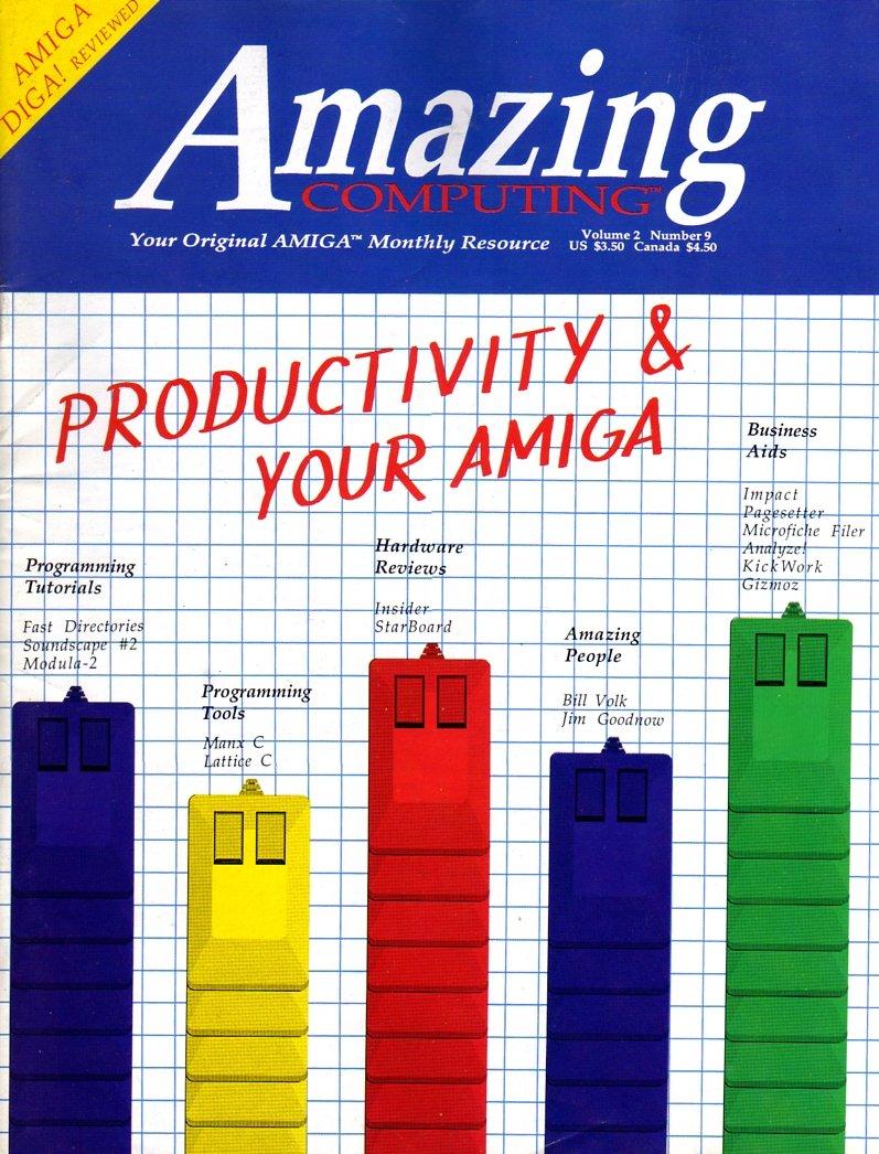 Amazing Computing Issue 018 Vol. 02 No. 09 (September 1987)