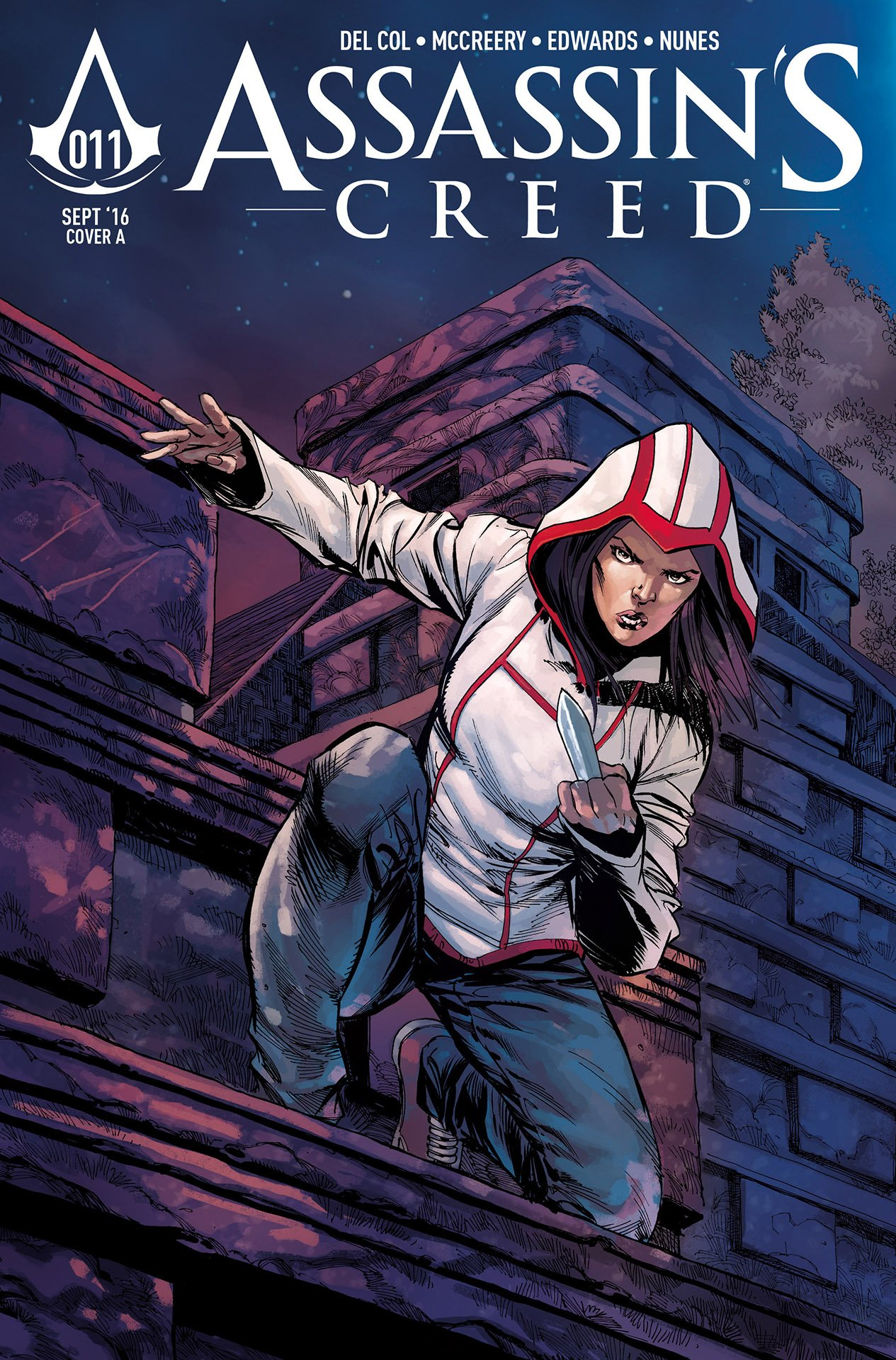 Assassin's Creed 011 (cover a) (September 2016)