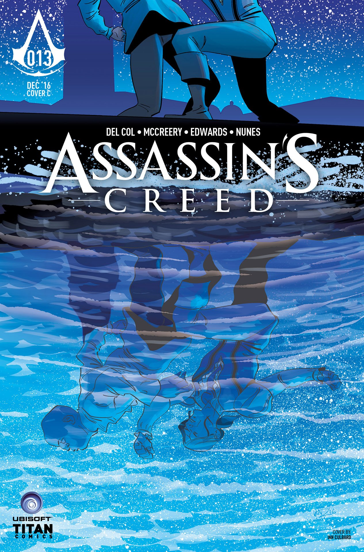 Assassin's Creed 013 (cover c) (December 2016)