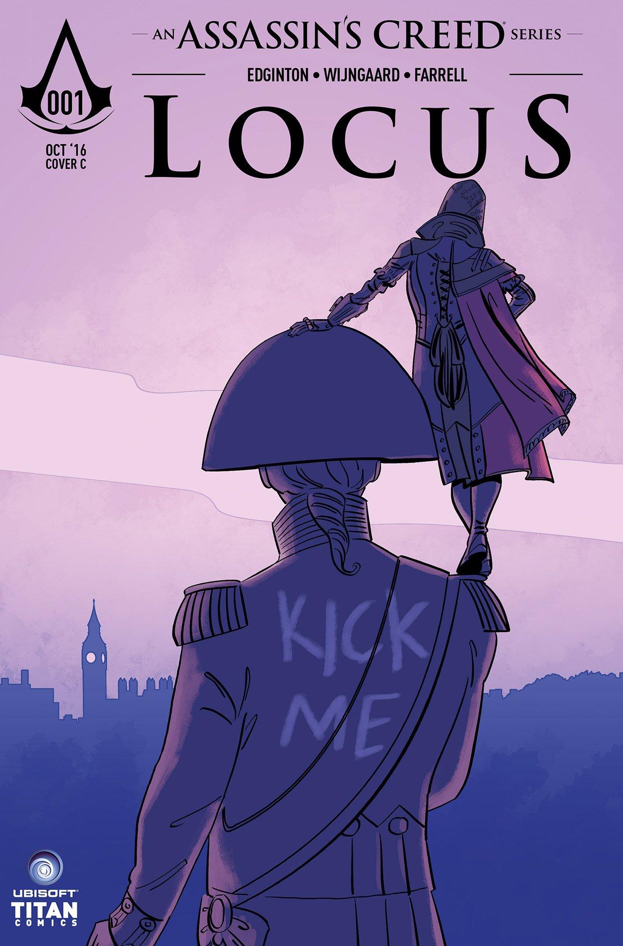 Assassin's Creed: Locus 01 (cover c) (October 2016)