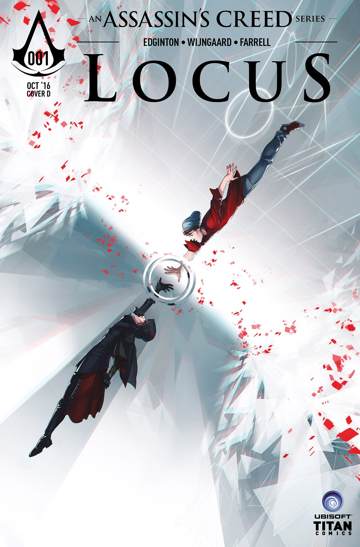 Assassin's Creed: Locus 01 (cover d) (October 2016)