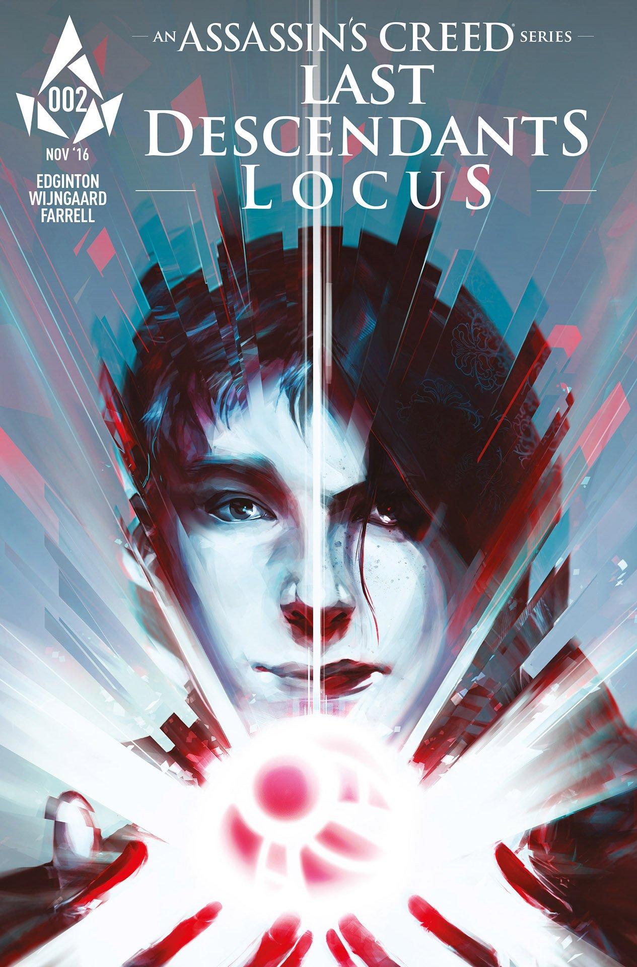 Assassin's Creed: Locus 02 (cover c) (November 2016)