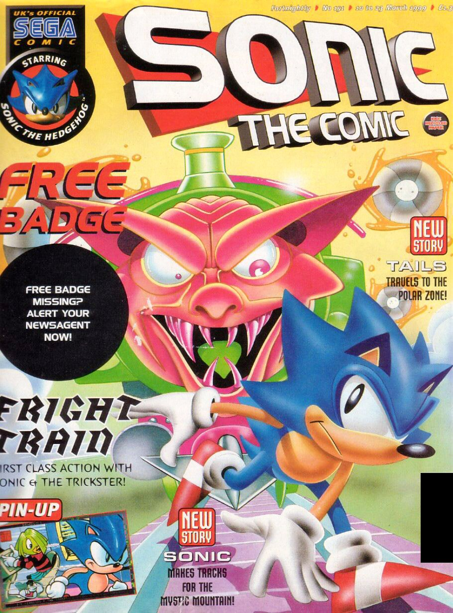 Sonic the Comic 151 (March 10, 1999)
