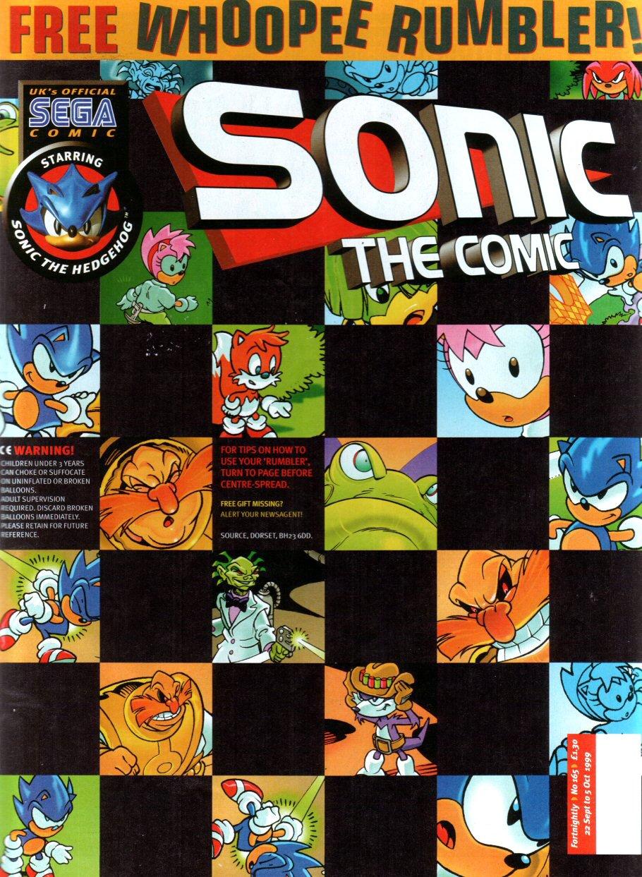 Sonic the Comic 165 (September 22, 1999)