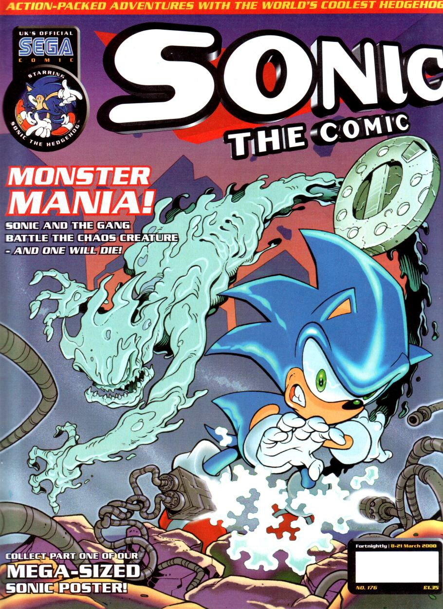 Sonic the Comic 176 (March 8, 2000)