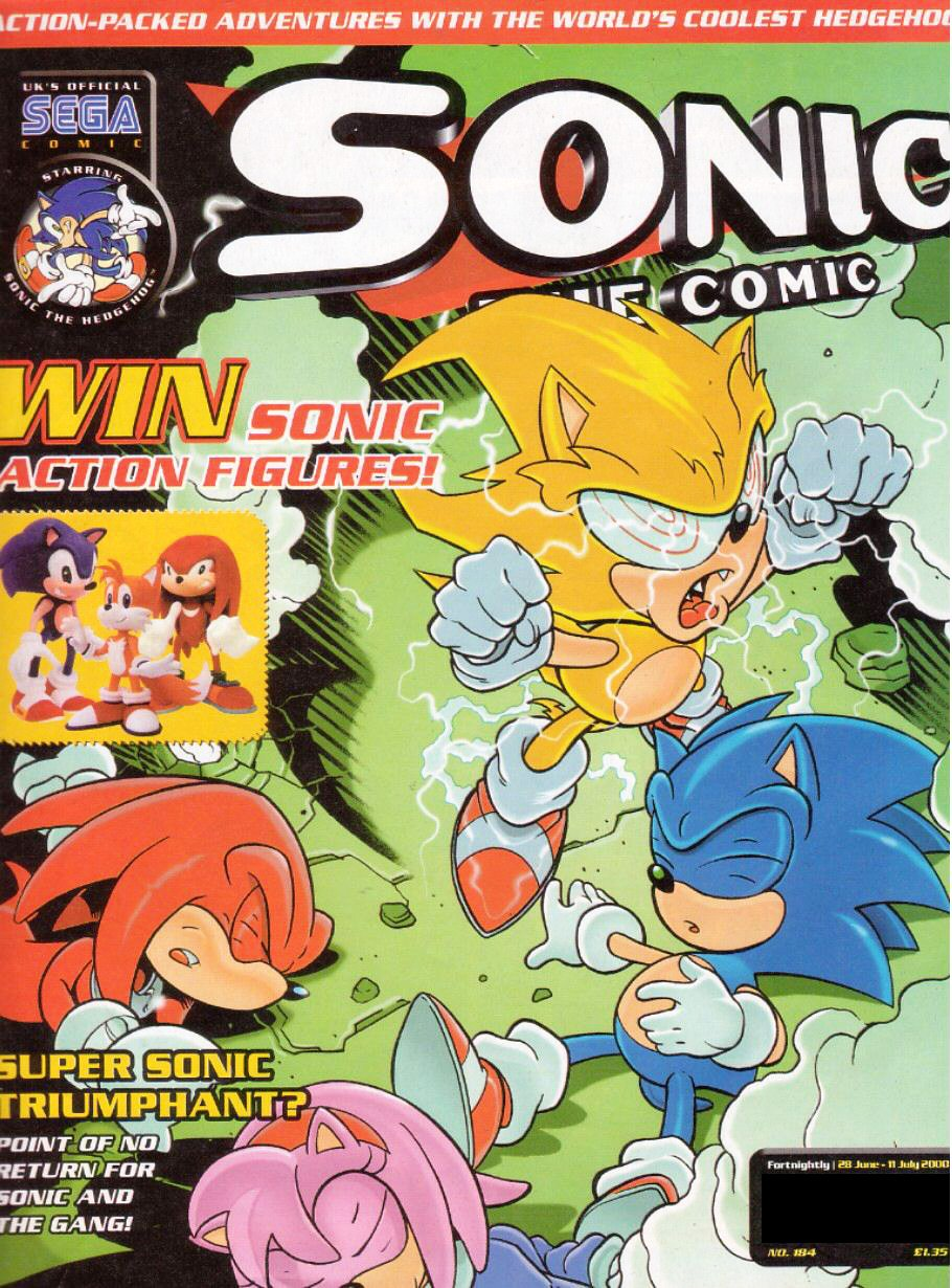 Sonic the Comic 184 (June 28, 2000)