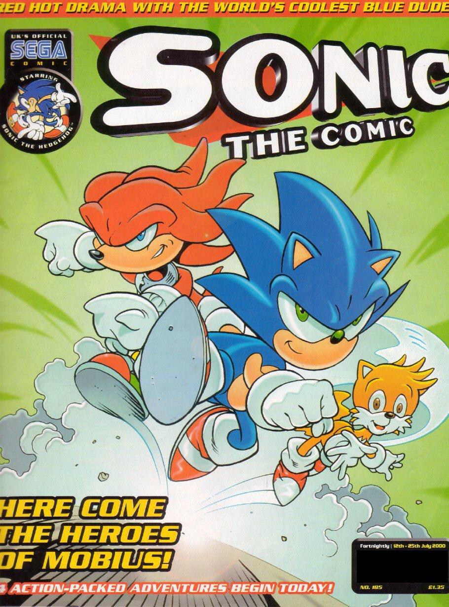 Sonic the Comic 185 (July 12, 2000)