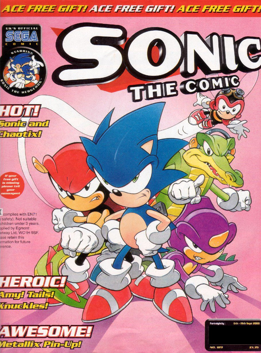 Sonic the Comic 189 (September 6, 2000)
