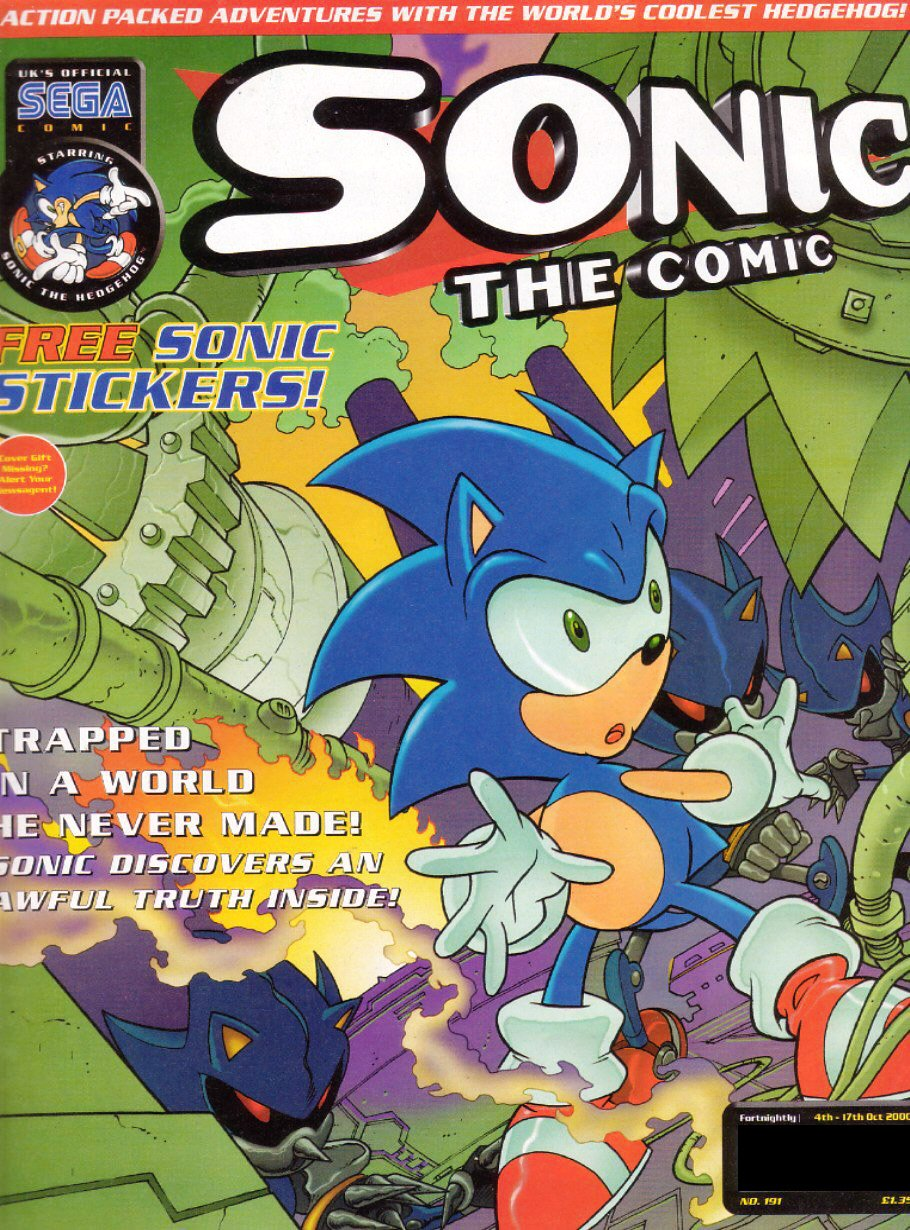 Sonic the Comic 191 (October 4, 2000)