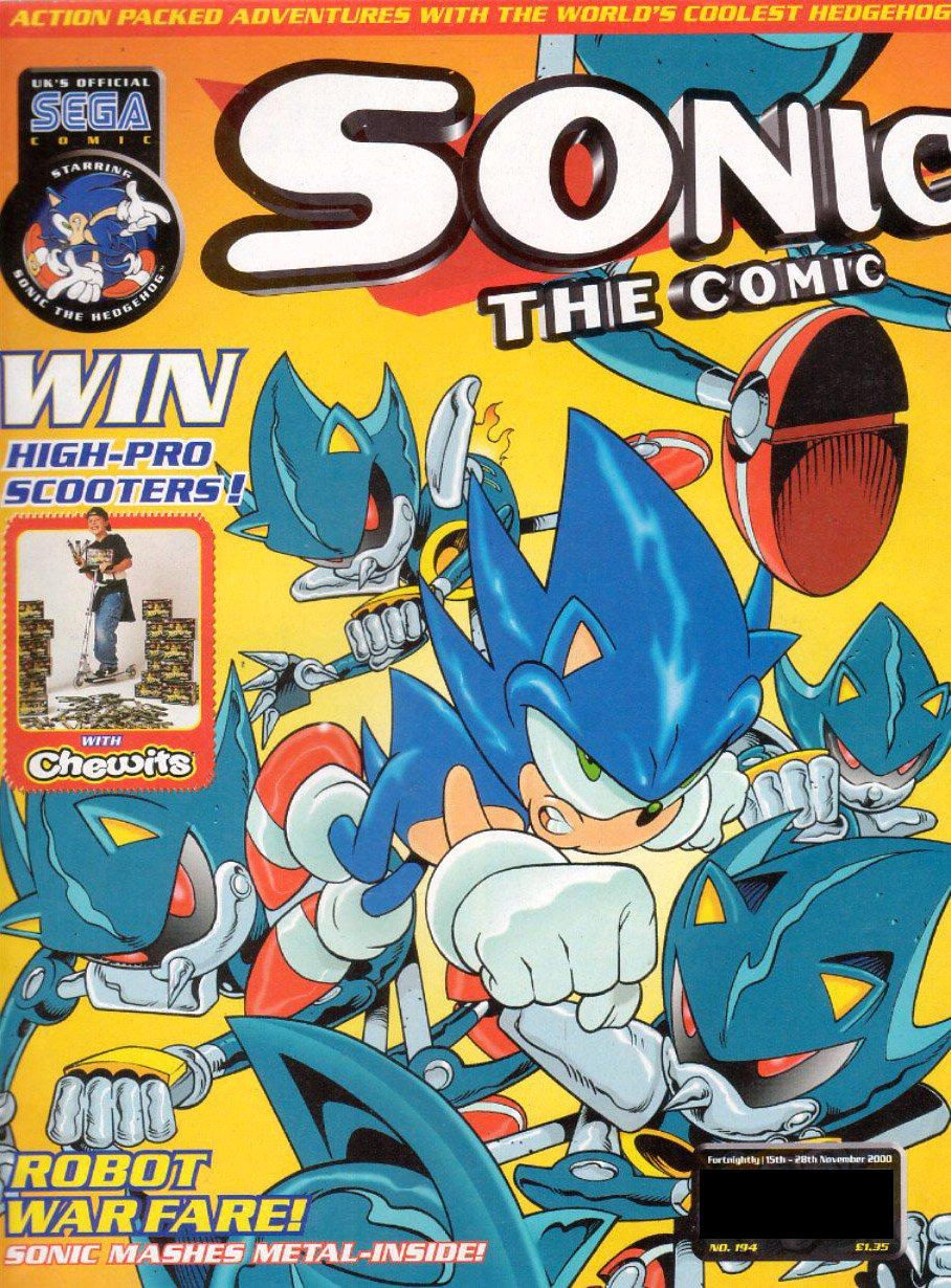 Sonic the Comic 194 (November 15, 2000)