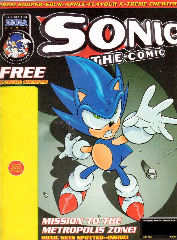 Sonic the Comic 195 (November 29, 2000)