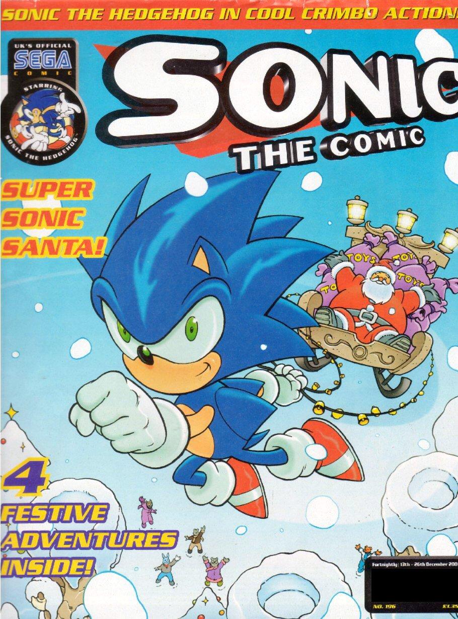 Sonic the Comic 196 (December 13, 2000)