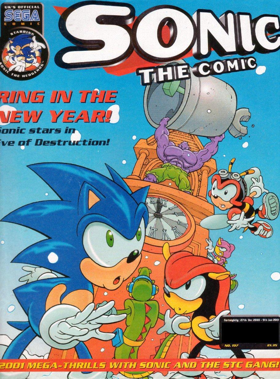 Sonic the Comic 197 (December 27, 2000)