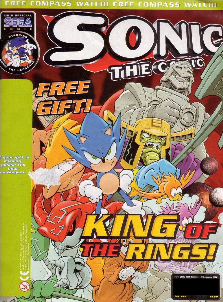 Sonic the Comic 223 (December 28, 2001)