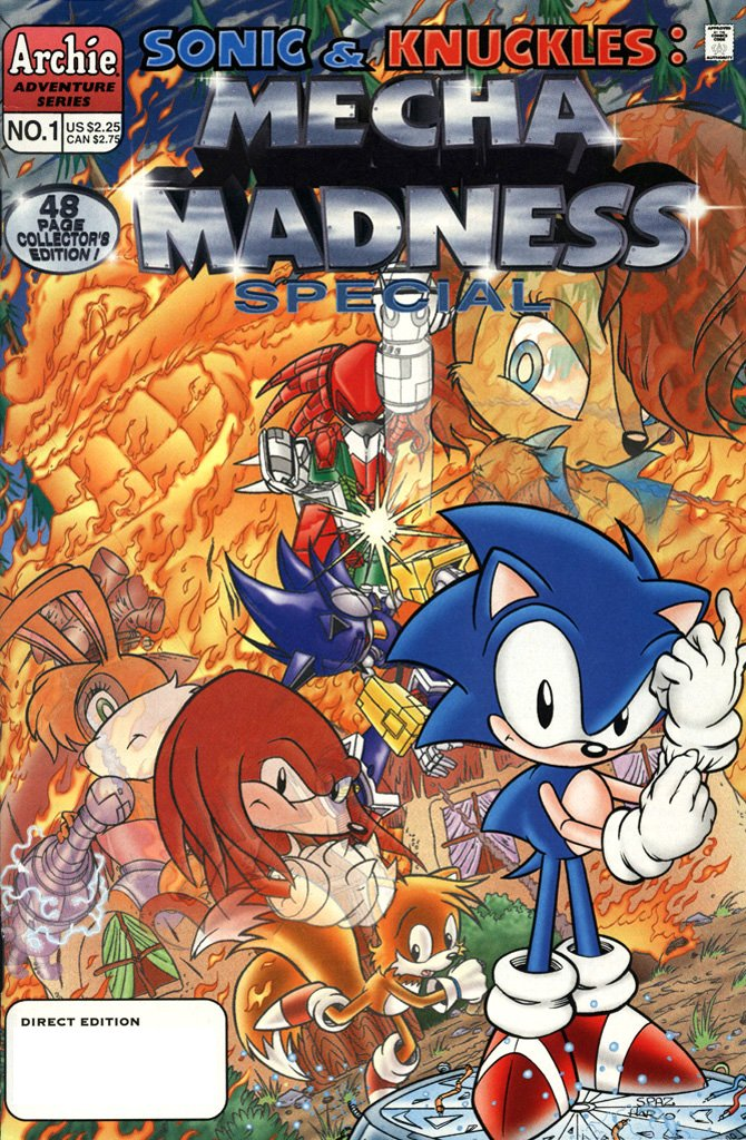 Sonic & Knuckles: Mecha Madness Special (October 1996)
