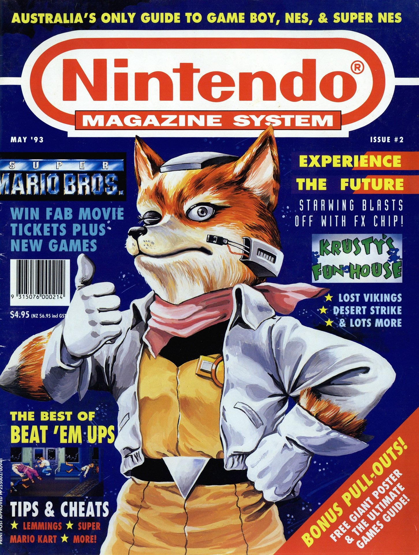 Nintendo Magazine System (AUS) 002 (May 1993)