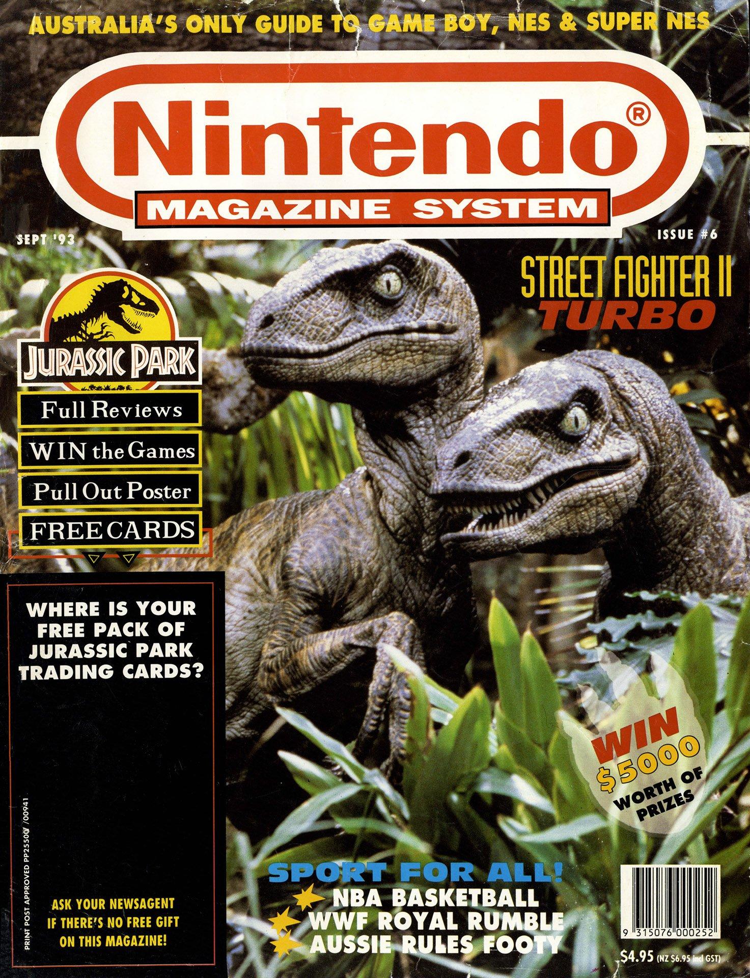 Nintendo Magazine System (AUS) 006 (September 1993)