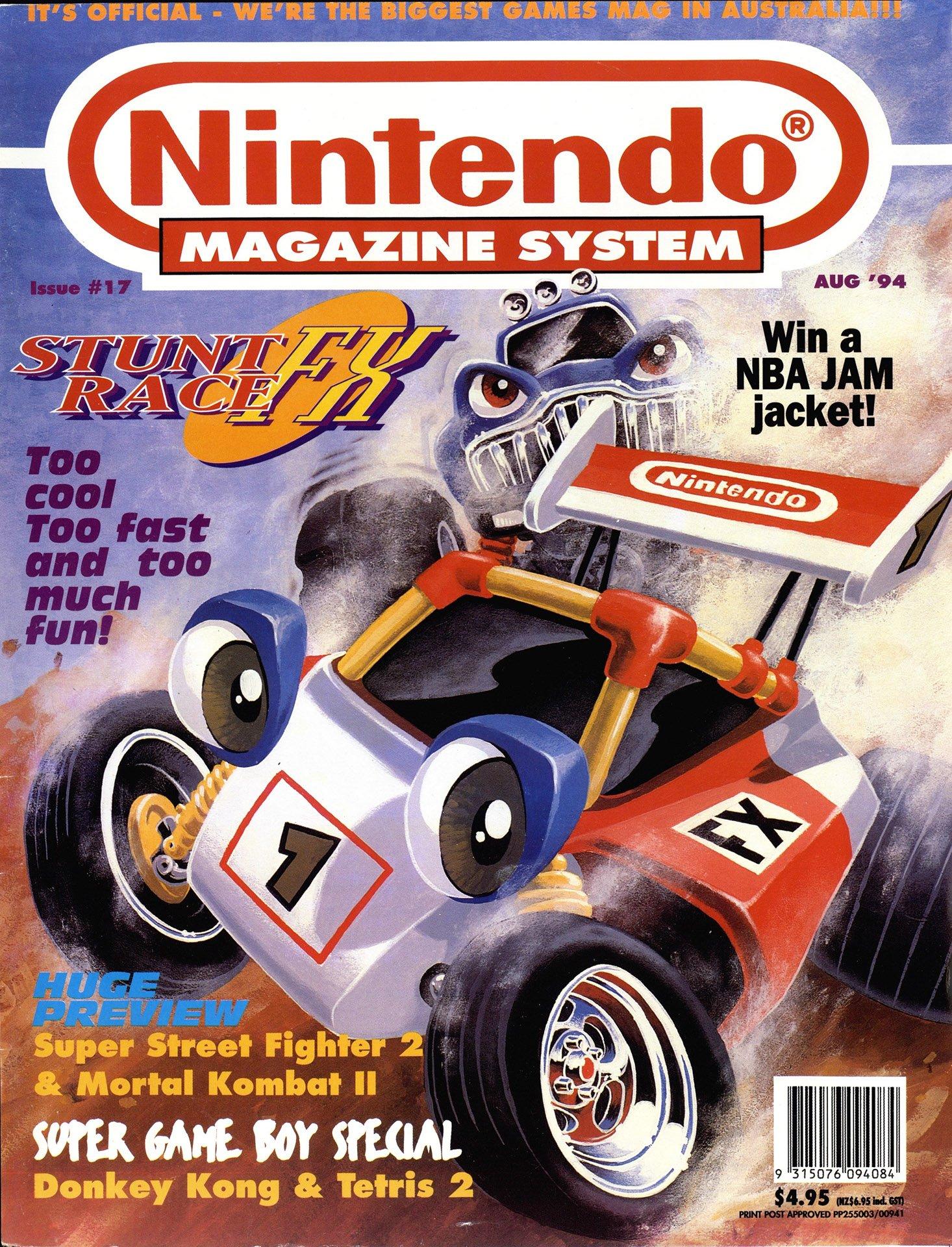 Nintendo Magazine System (AUS) 017 (August 1994)