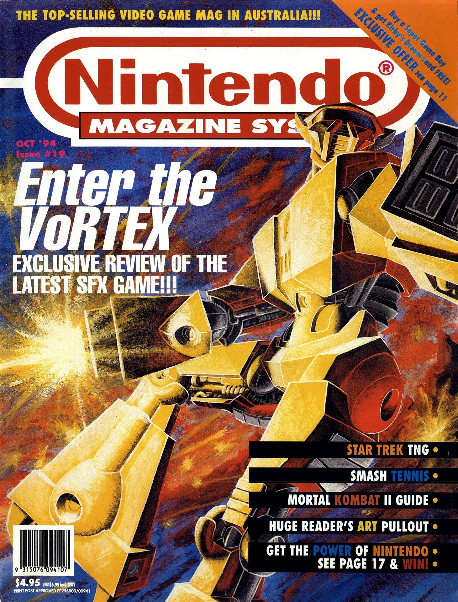 Nintendo Magazine System (AUS) 019 (October 1994)