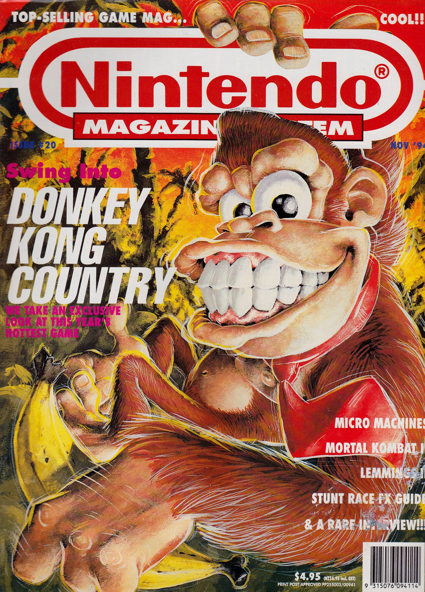 Nintendo Magazine System (AUS) 020 (November 1994)
