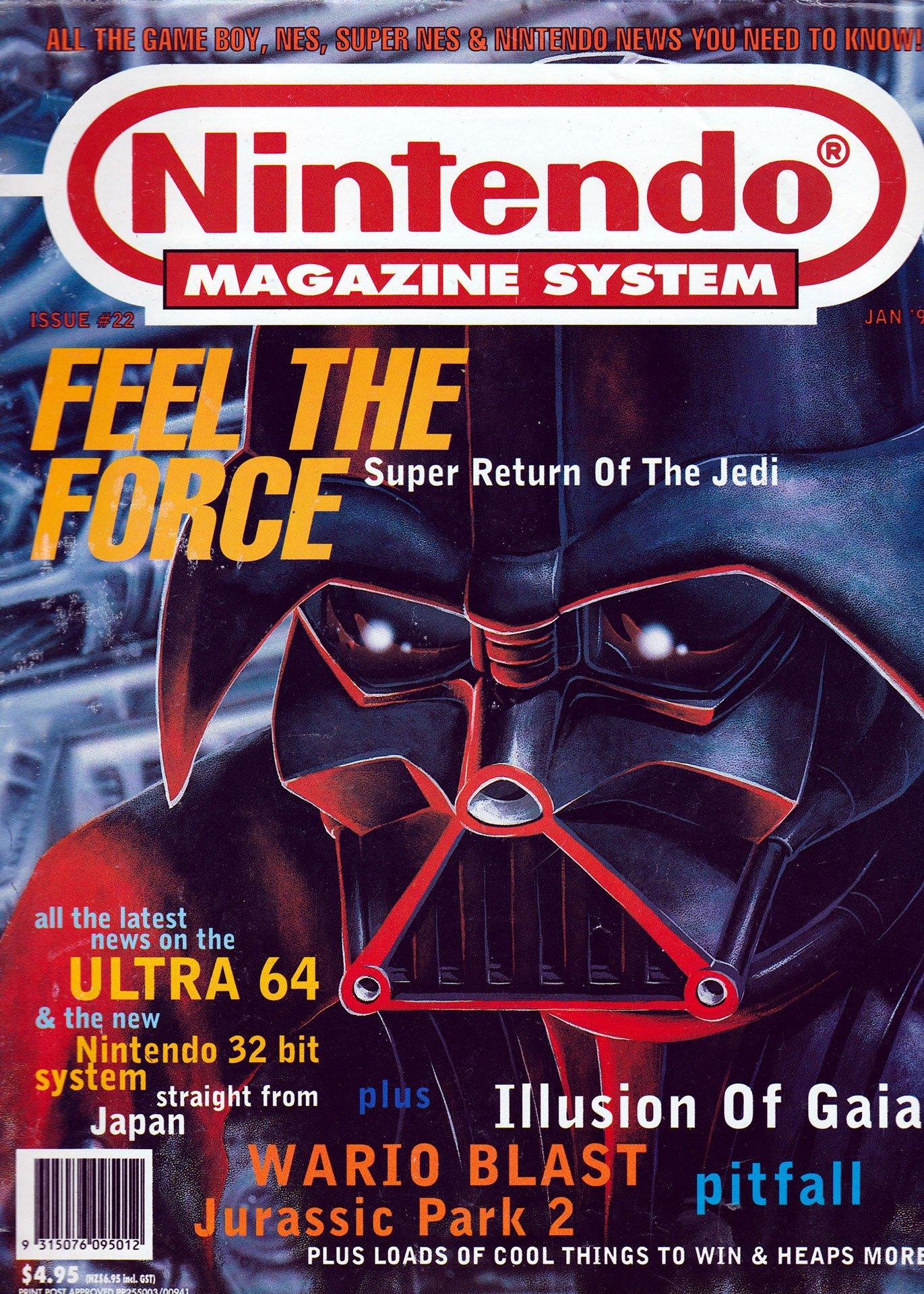 Nintendo Magazine System (AUS) 022 (January 1995)