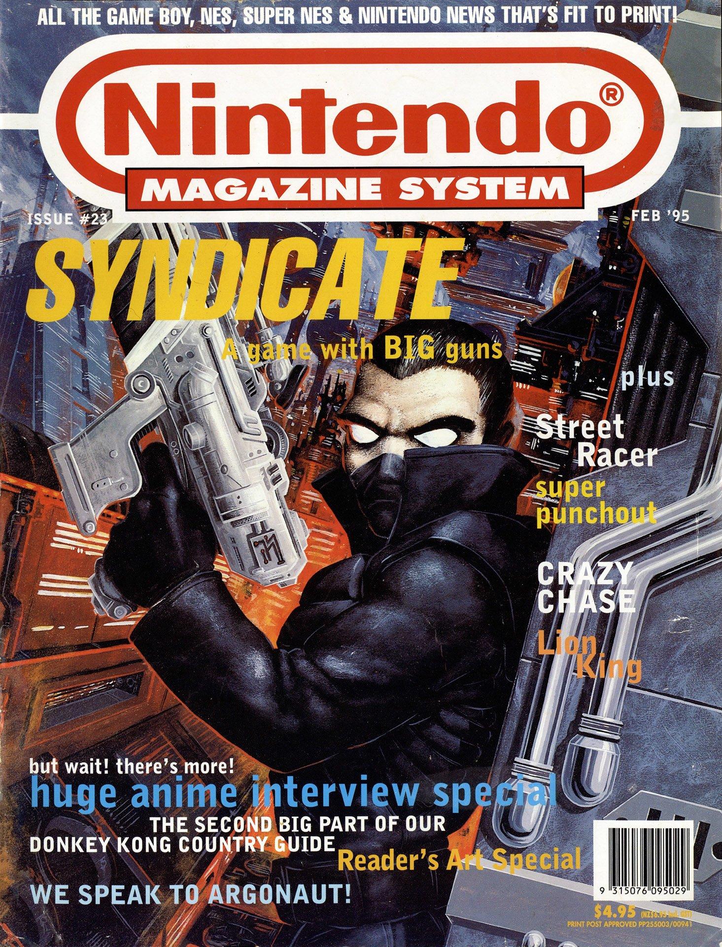 Nintendo Magazine System (AUS) 023 (February 1995)
