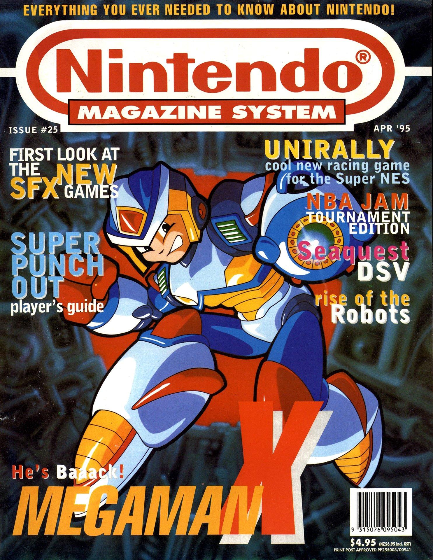 Nintendo Magazine System (AUS) 025 (April 1995)