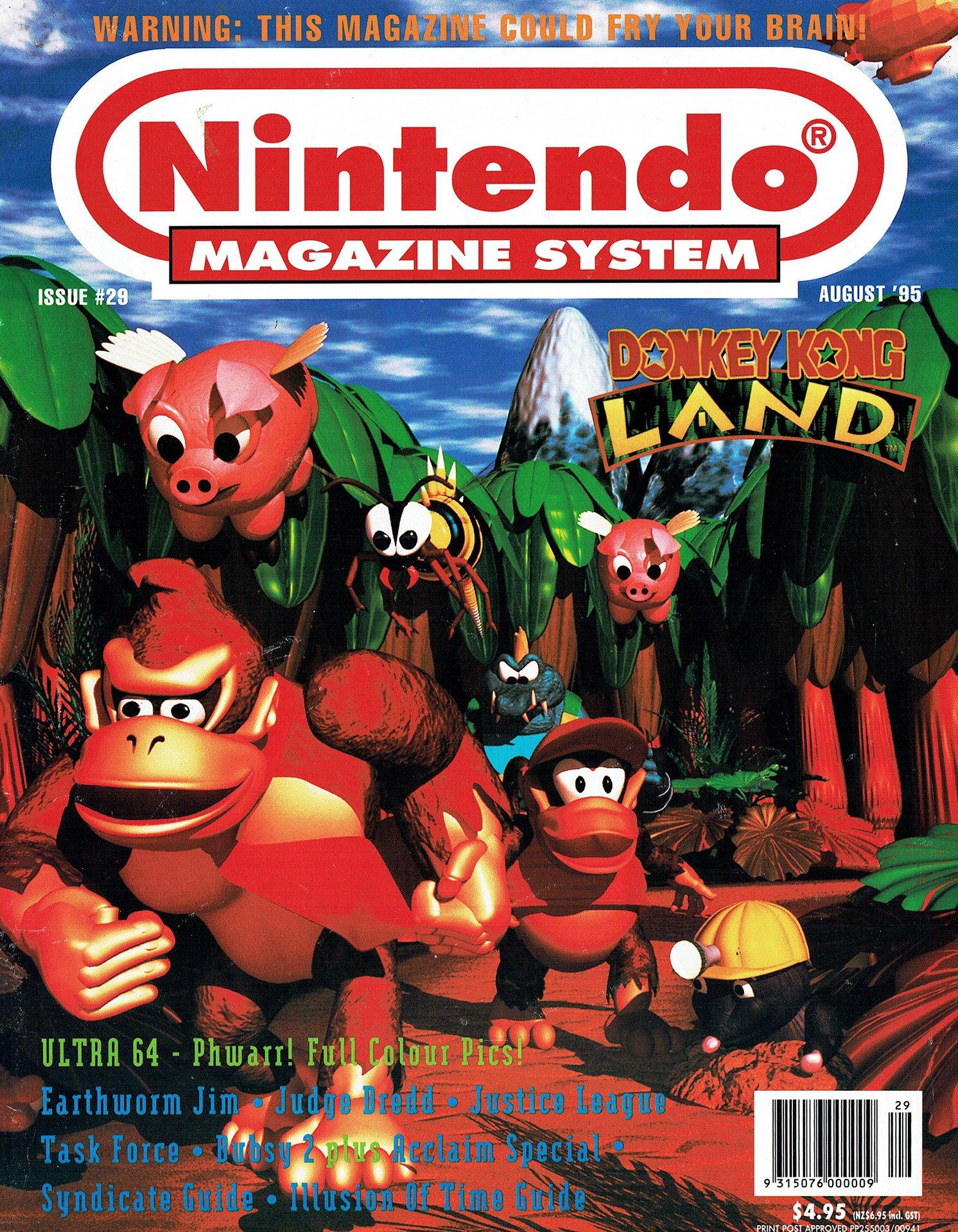 Nintendo Magazine System (AUS) 029 (August 1995)