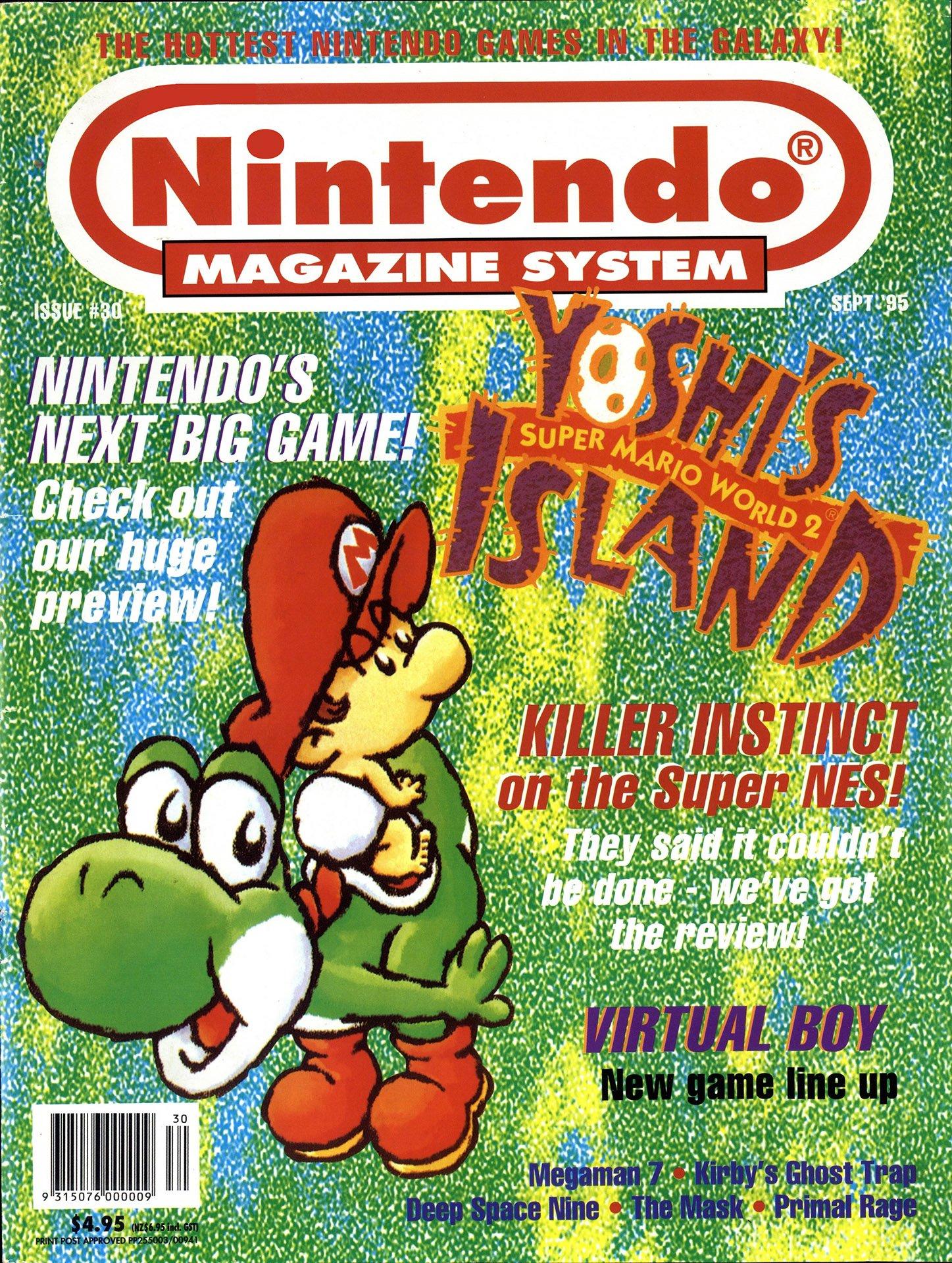 Nintendo Magazine System (AUS) 030 (September 1995)