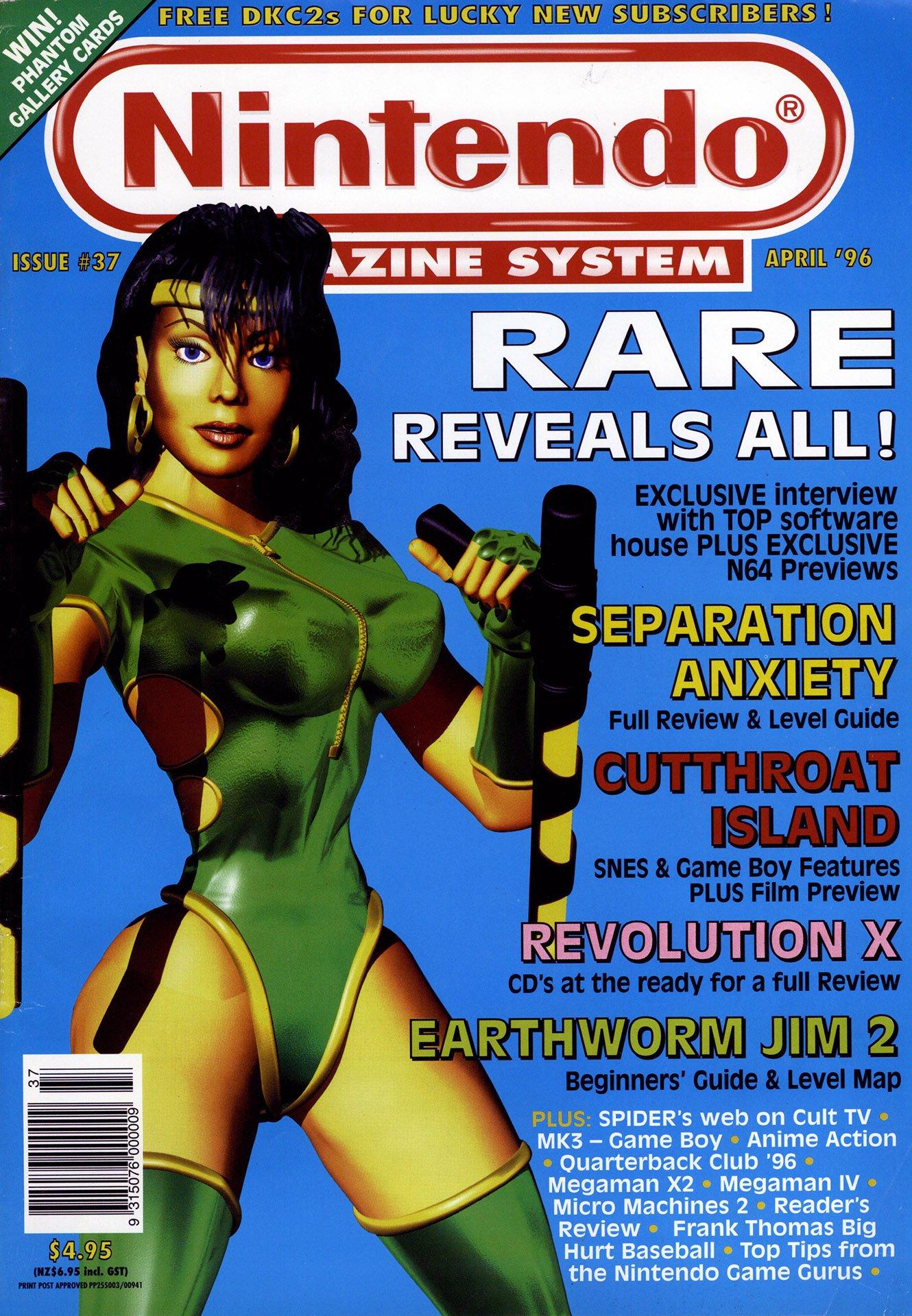 Nintendo Magazine System (AUS) 037 (April 1996)