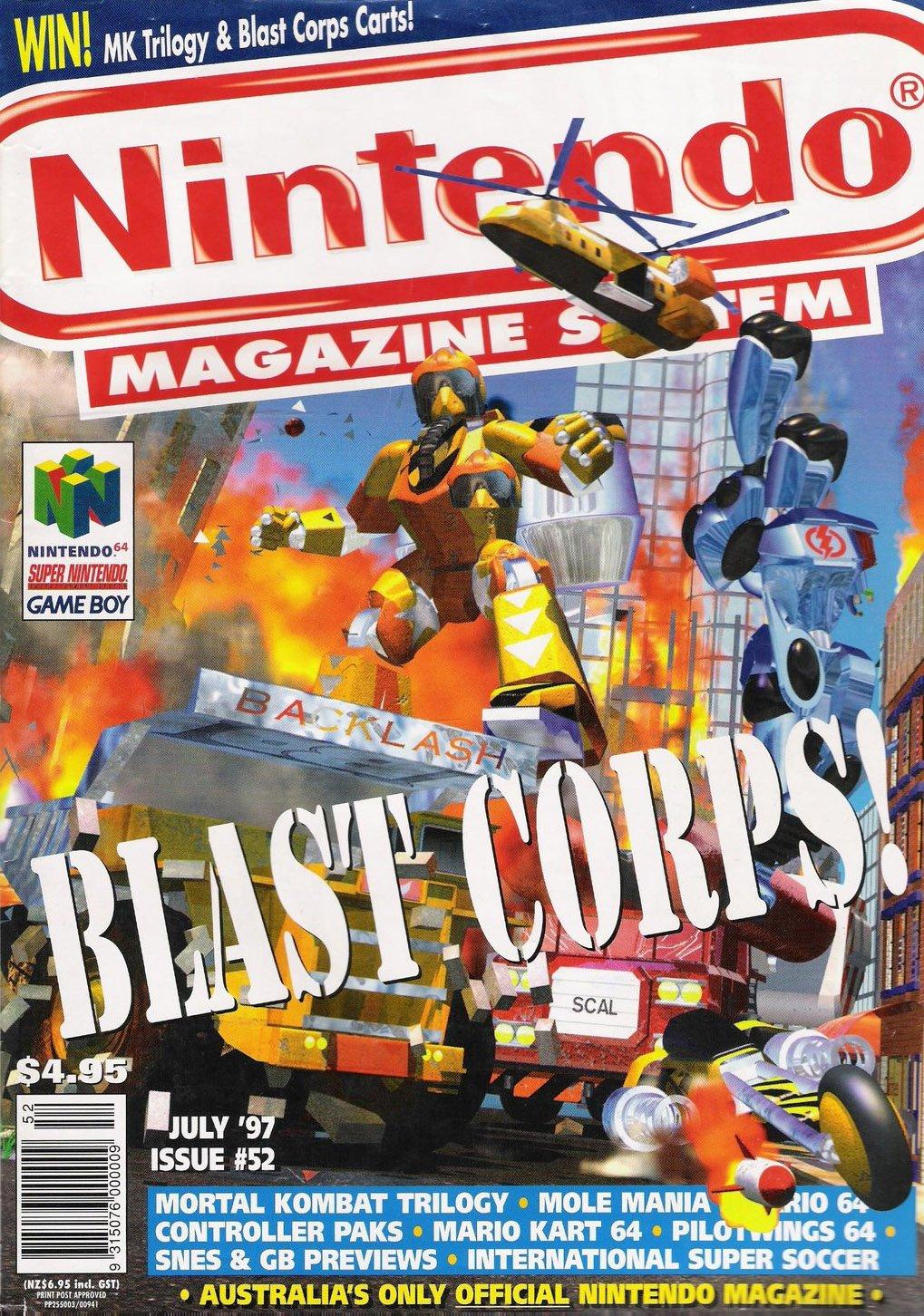 Nintendo Magazine System (AUS) 052 (July 1997)
