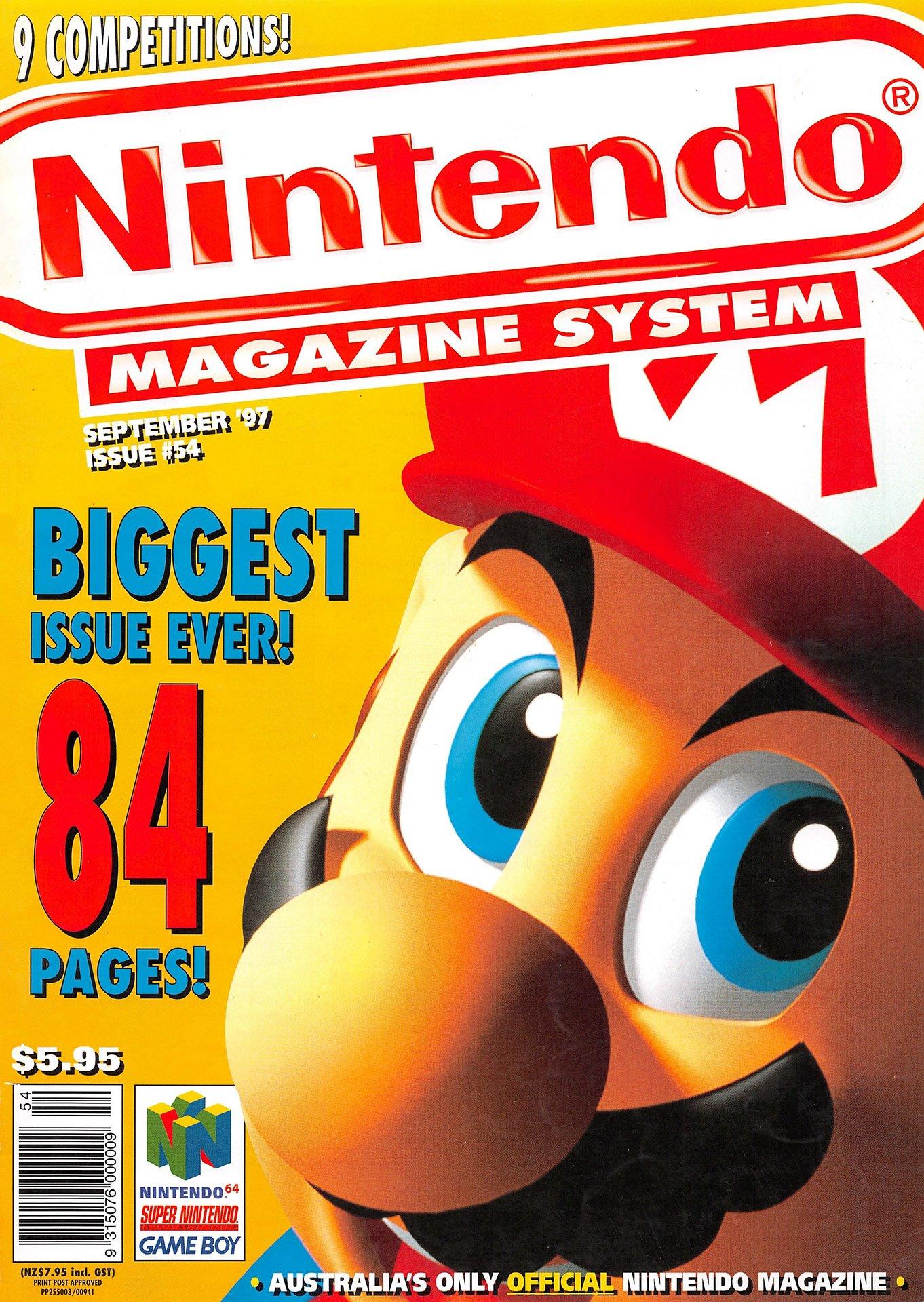 Nintendo Magazine System (AUS) 054 (September 1997)