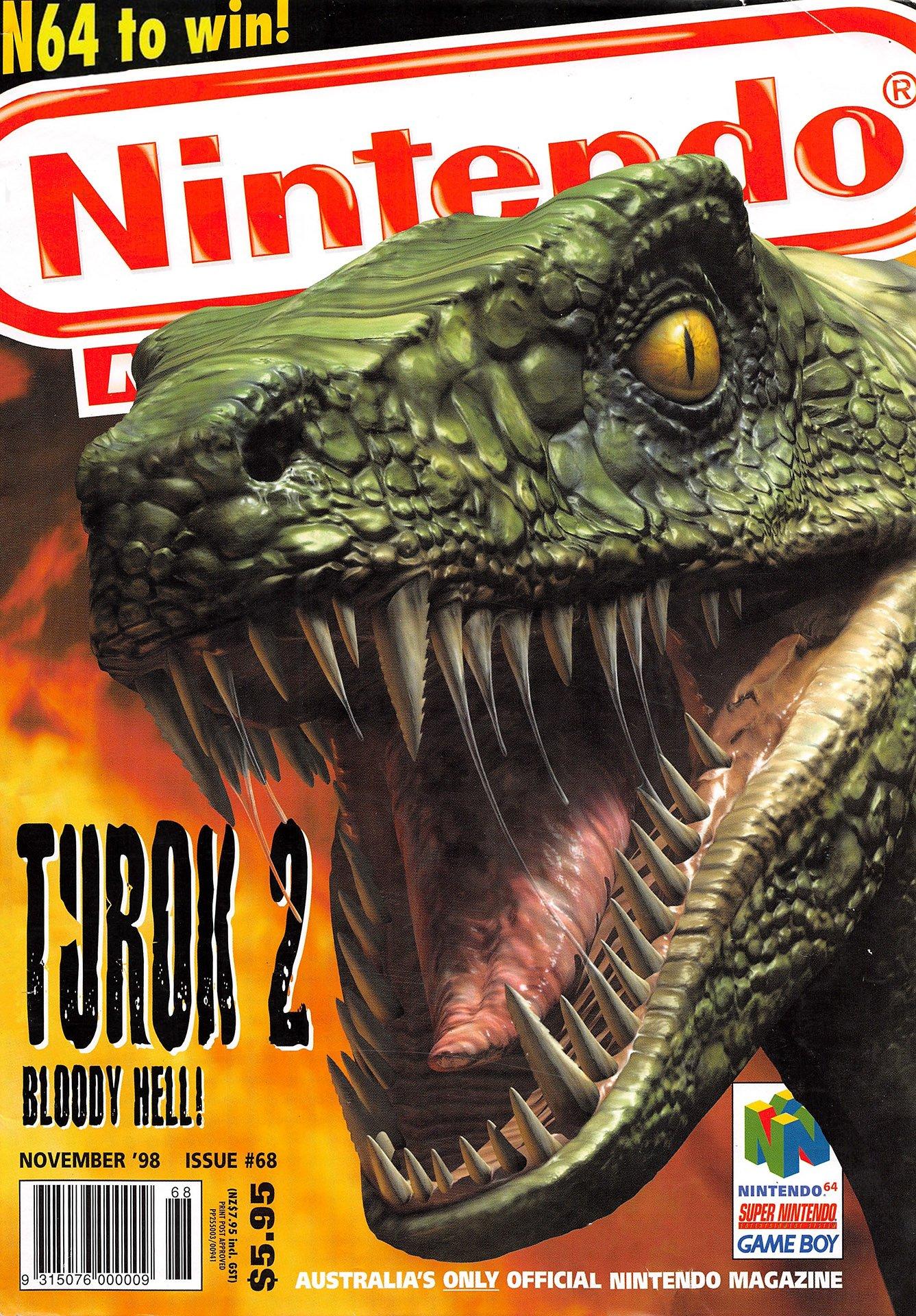 Nintendo Magazine System (AUS) 068 (November 1998)