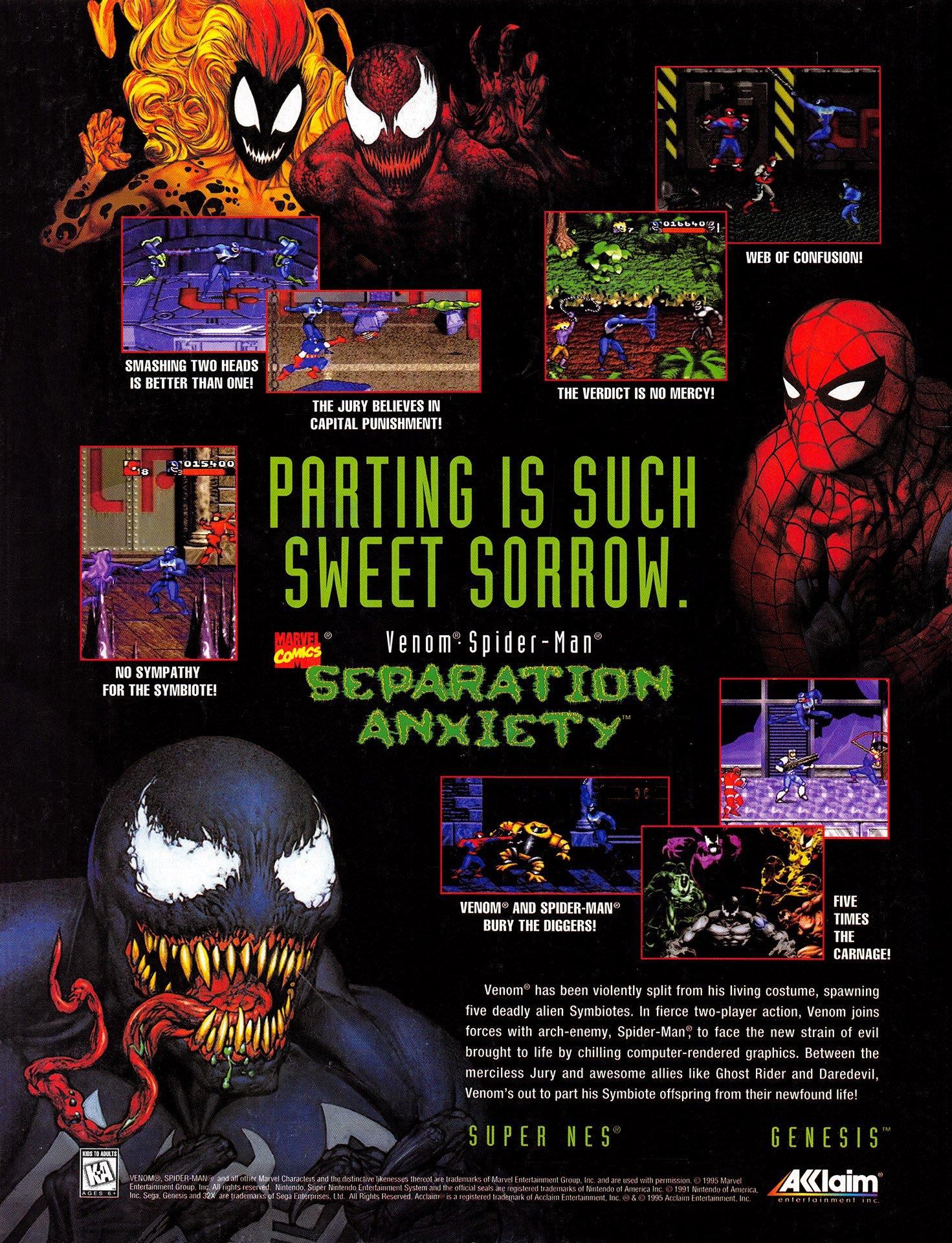 Venom • Spider-Man - Separation Anxiety