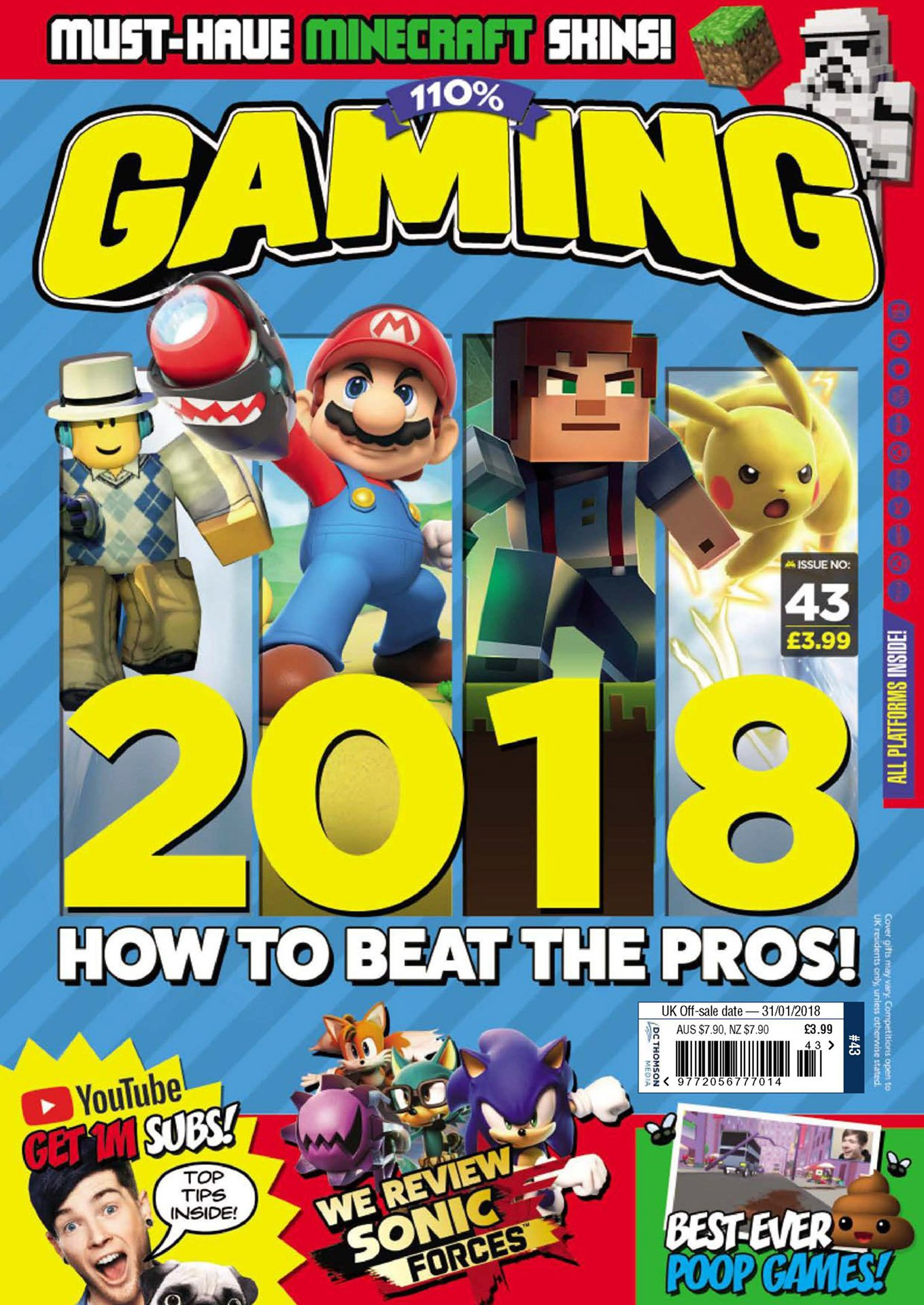 110% Gaming Issue 043 (January 2018)