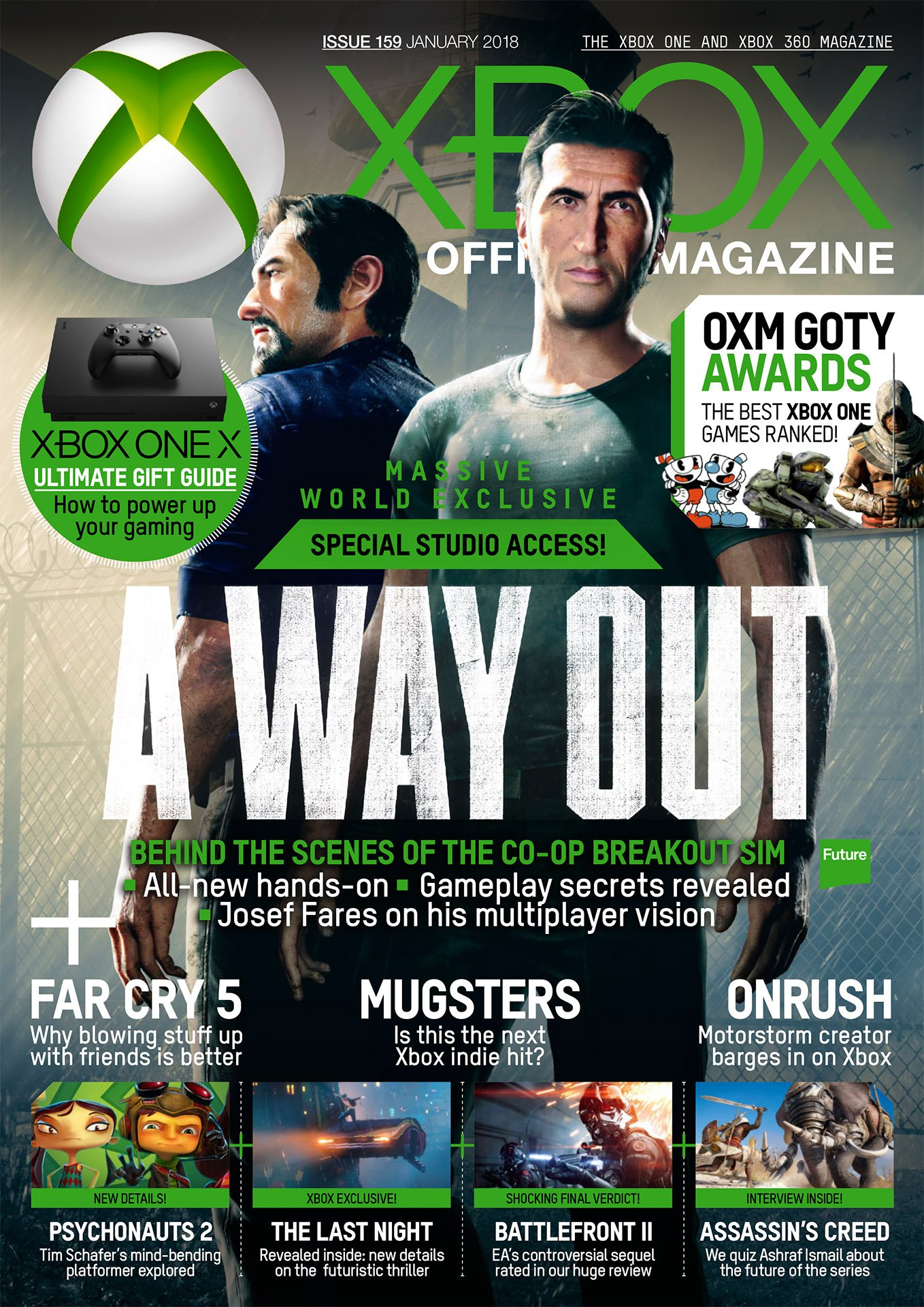 XBOX The Official Magazine Issue 159 (January 2018)