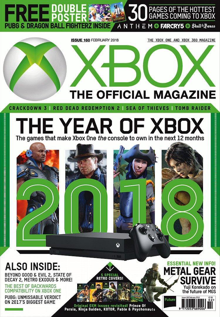 XBOX The Official Magazine Issue 160 (February 2018) (cover a)