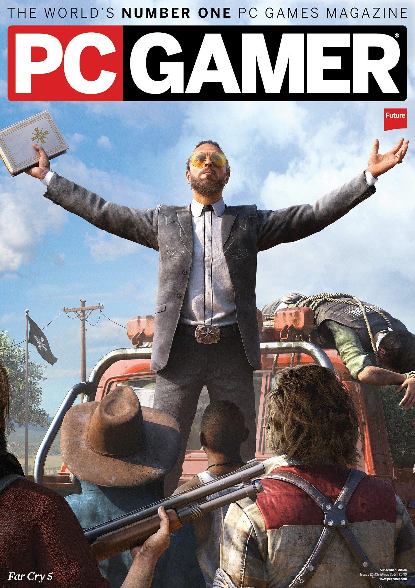 PC Gamer UK 312 (Christmas 2017) (subscriber edition)
