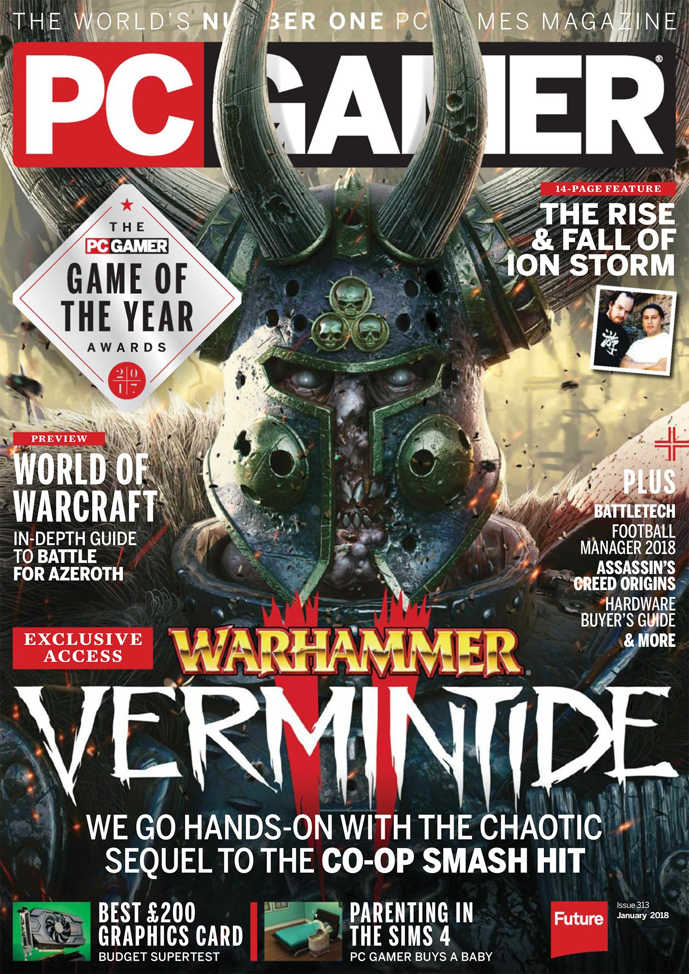 PC Gamer UK 313 (January 2018)