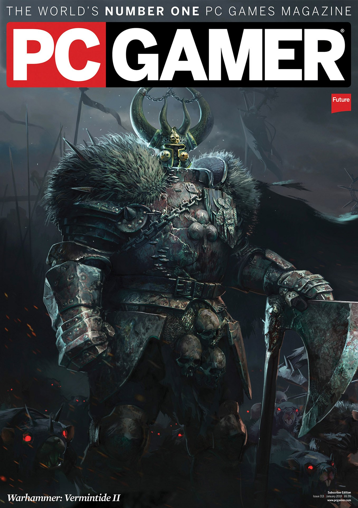 PC Gamer UK 313 (January 2018) (subscriber edition)