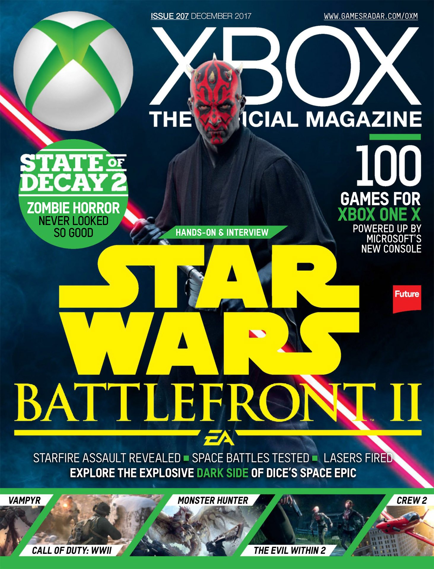 Official Xbox Magazine 207 (December 2017)