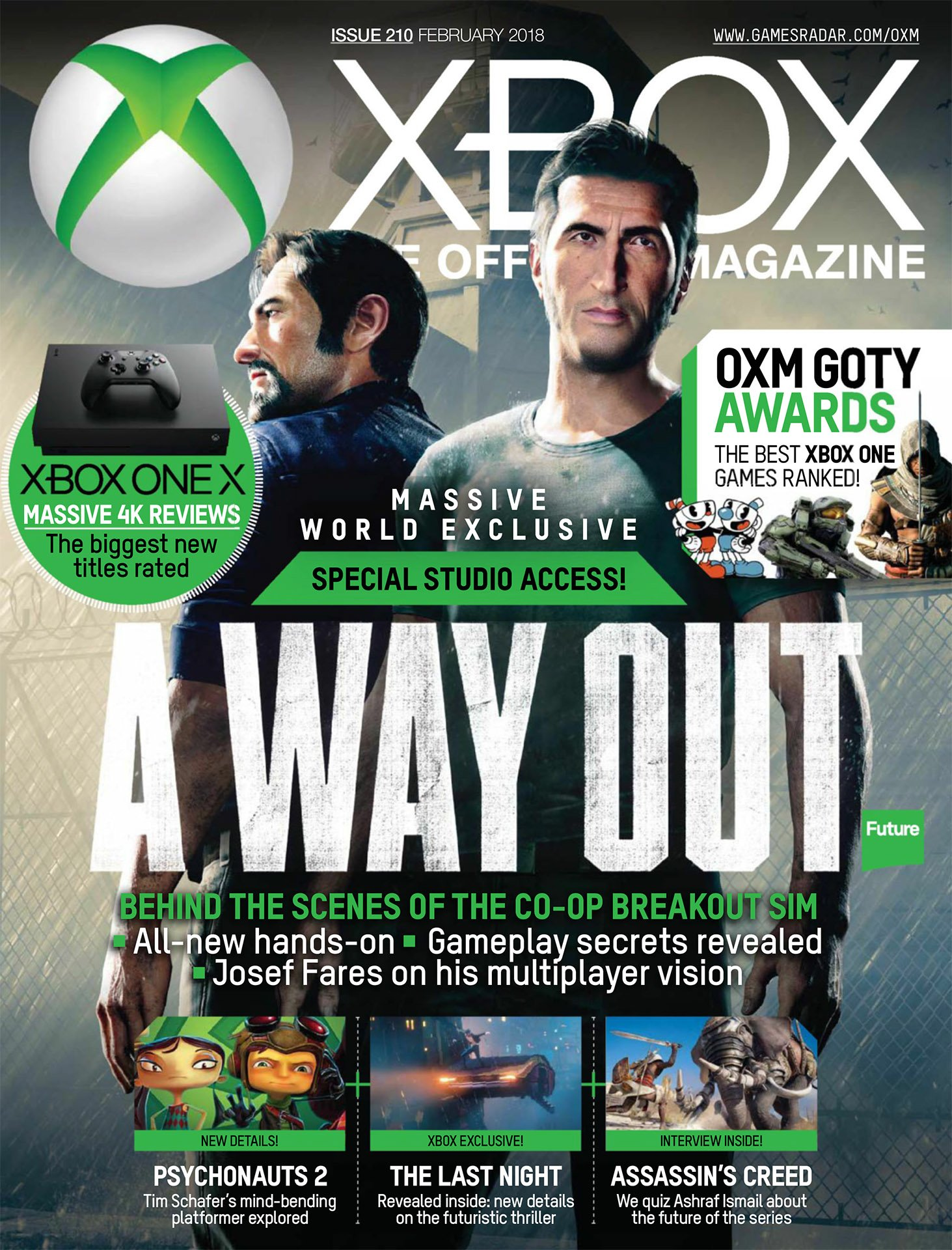 Official Xbox Magazine 210 (February 2018)