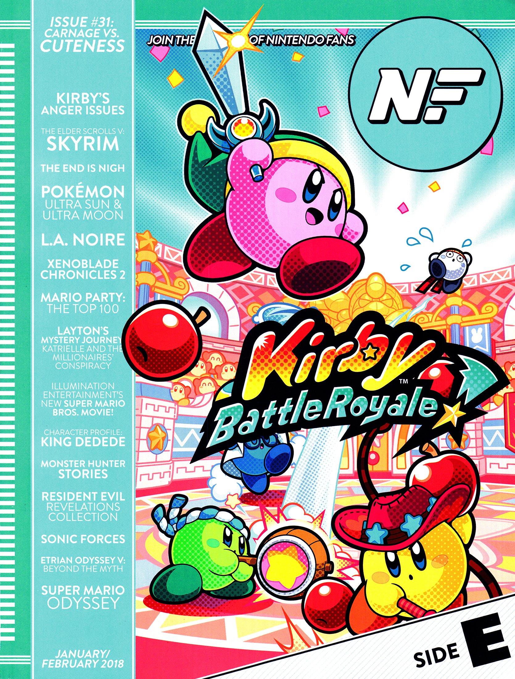 Nintendo Force Issue 31 January/February 2018 Side E